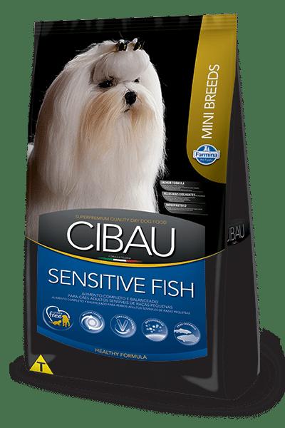 Ração Cibau Cães Sensitive Fish Raças Pequenas