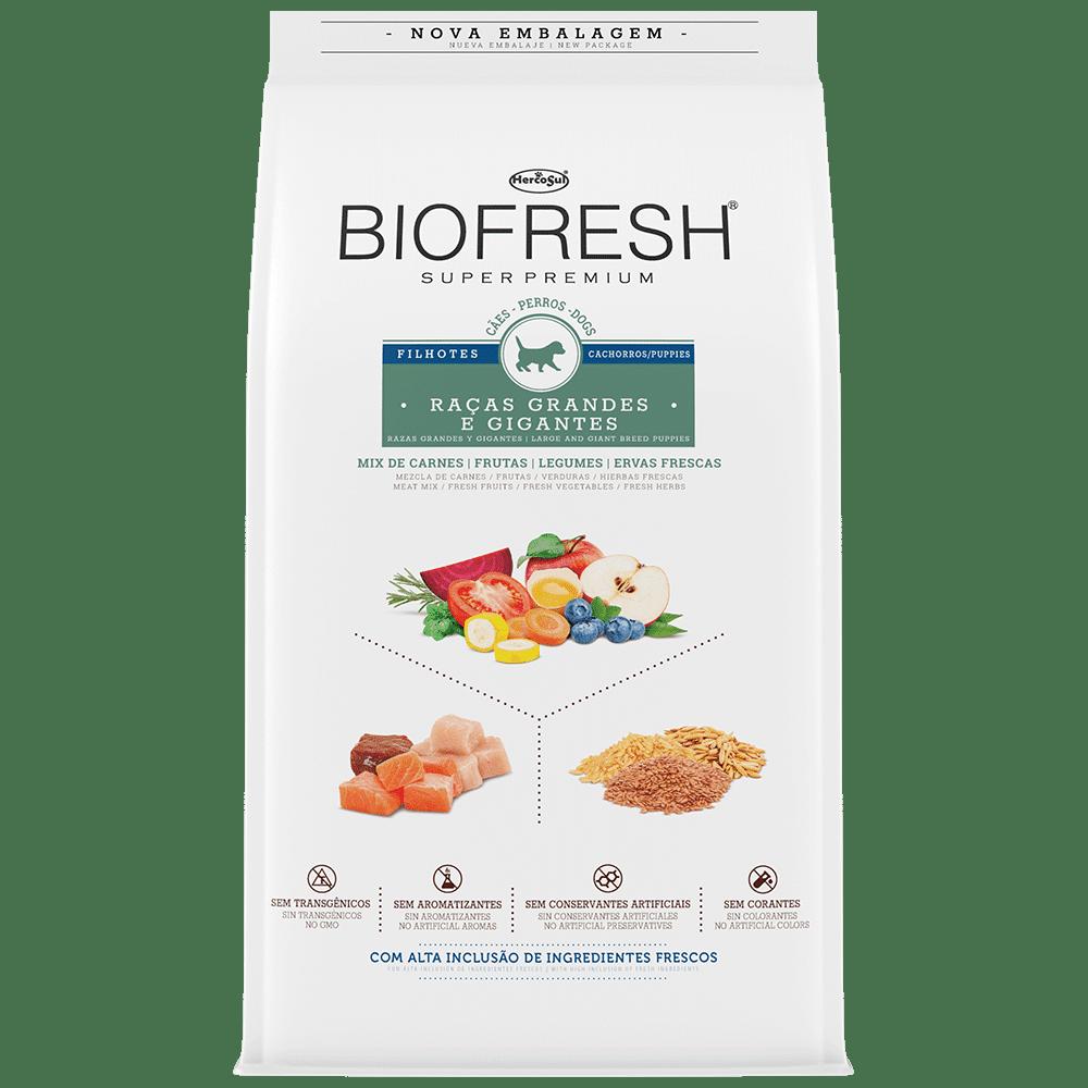 Ração Biofresh Para Filhotes