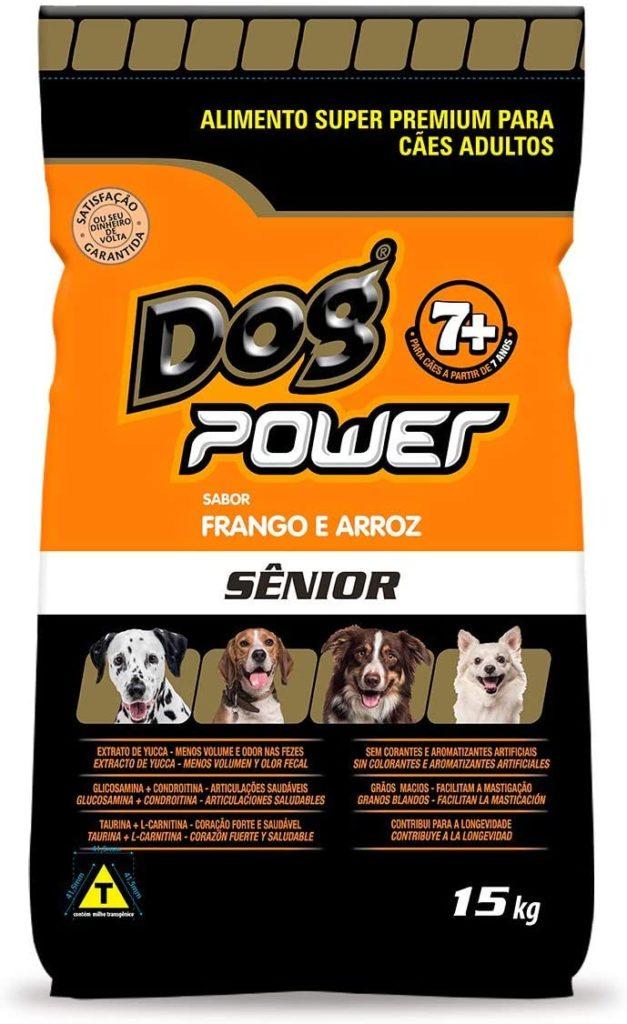 Ração Dog Power para Cães Adultos Seniores