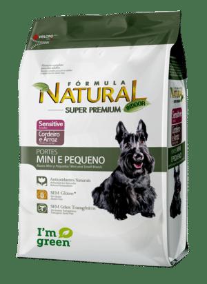 Ração Sensitive Para Cães de Porte Mini e Pequeno