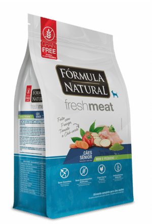 Fórmula Natural Fresh Meat Cães Sênior Portes Mini e Pequeno