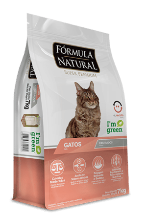Fórmula Natural Super Premium Gatos Castrados