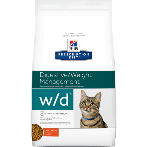 Hill's Prescription Diet w/d Felino – Controle de Peso