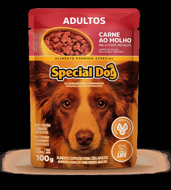 Special Dog Patê Cães Adultos Sabor Carne 150 g