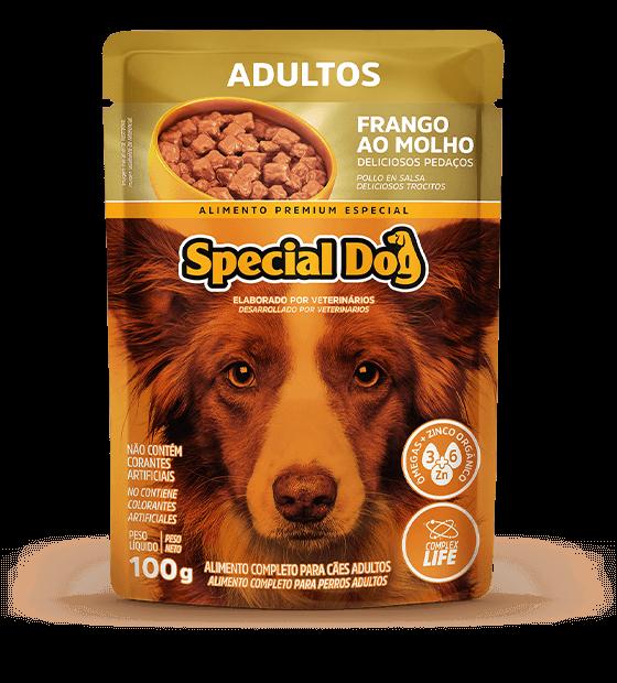 Alimento Úmido Sachê Special para Cães Adultos Frango ao Molho 100g